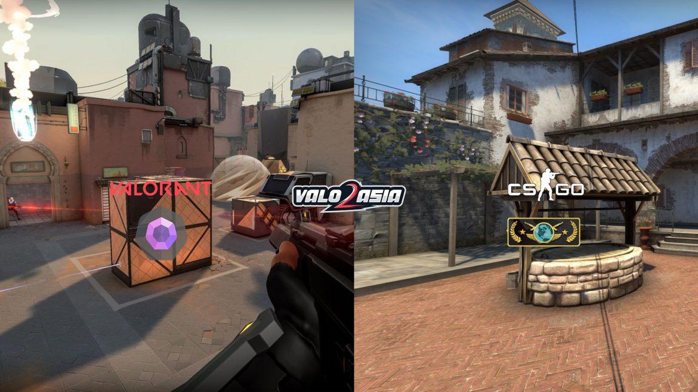 VALORANT vs CS:GO