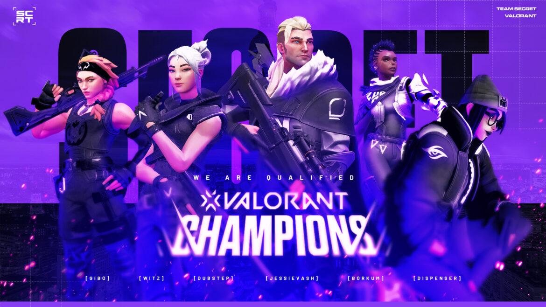 Team Secret Champions